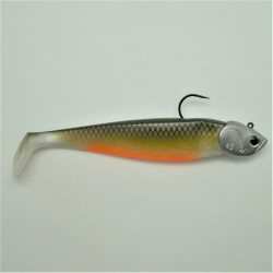 Shad GT 150 Dos Noir ventre orange en 45 gr